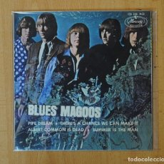 Discos de vinilo: BLUES MAGOOS - PIPE DREAM + 3 - EP. Lote 156613200