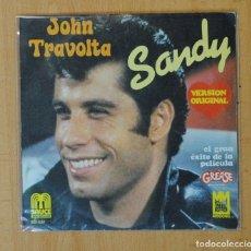 Discos de vinilo: JOHN TRAVOLTA - SANDY / ALL STRUNG OUT ON YOU - SINGLE. Lote 156613841