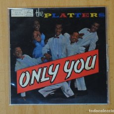 Discos de vinilo: THE PLATTERS - ONLY YOU + 3 - EP. Lote 156613898