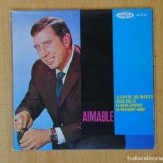 Discos de vinilo: AIMABLE - LA CASA DEL SOL NACIENTE + 3 - EP. Lote 156613926