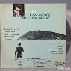 Discos de vinilo: 10 PULGADAS. DEAN MARTIN. CANCIONES MEDITERRANEAS . Lote 156614658