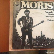 """Discos de vinil: MORIS: SÁBADO NOCHE 7"""". Lote 156616854"""