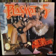 Discos de vinilo: PLASMATICS - METAL PRIESTESS. Lote 156617426