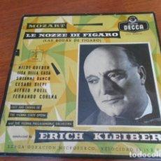 Discos de vinilo: LE NOZZE DI FIGARO (LAS BODAS DE FIGARO)MOZART 4 DISCOS. Lote 156621470