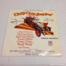 Discos de vinilo: BANDA SONORA ORIGINAL CHITTY CHITTY BANG BANG - VERSION ESPAÑOLA . Lote 156621906