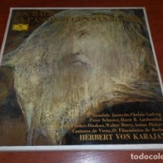 Discos de vinilo: J.S.BACH LA PASIÓN SEGÚN SAN MATEO-4 VINILLOS . Lote 156622402