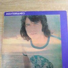 Discos de vinilo: JOAN MANUEL SERRAT-MEDITERRANO-PRIMERA EDICIÓN 1971-MUY BUEN ESTADO. Lote 156624526