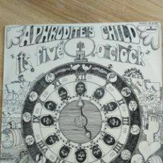 Discos de vinilo: APHRODITE'S CHILD-IT'S FIVE O'CLOCK-PRIMERA EDICIÓN ESPAÑOLA 1969. Lote 156626022