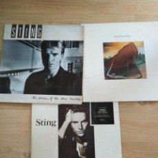 Discos de vinilo: LOTE 3 LP DE STING-MUY BUEN ESTADO. Lote 156626826