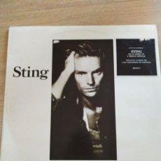 Discos de vinilo: STING-NOTHING LIKE THE SUN-ORIGINAL ESPAÑOL 1977-DOBLE LP. Lote 156627114