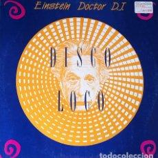 Discos de vinilo: EINSTEIN DOCTOR DJ - DISCO LOCO . MAXI SINGLE . 1991 AREA INTERNATIONAL. Lote 32923591