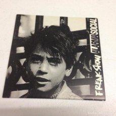 Discos de vinilo: ALARMA SOCIAL / FREAK SHOW --HARD CORE. Lote 156627738
