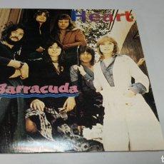 Discos de vinilo: HEART - BARRACUDA. BOSTON MUSIC HALL, 27.1.1979. DOBLE LP VINILO NUEVO.. Lote 156630880