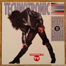 Discos de vinilo: VINILO TECHNOTRONIC BODY TO BODY. Lote 156632278