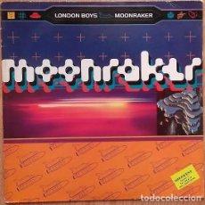Discos de vinilo: LONDON BOYS – MOONRAKER - MAXI-SINGLE GERMANY 1992. Lote 156633162