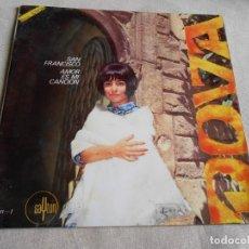 Discos de vinilo: DOVA, SG, SAN FRANCISCO + 1, AÑO 196?. Lote 156634606