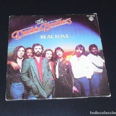 Discos de vinilo: THE DOOBIE BROTHERS --REAL LOVE ---- ORIGINAL AÑO 1980----HISPAVOX 45 2020. Lote 156635454
