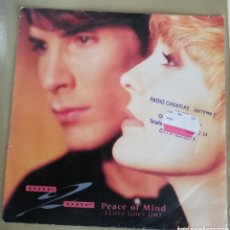 Discos de vinilo: ONE 2 ONE - PEACE OF MIND. Lote 156636729