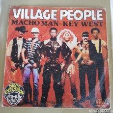 Discos de vinilo: VILLAGE PEOPLE - MACHO MAN. Lote 156637620
