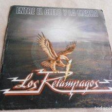 Discos de vinilo: RELÁMPAGOS, LOS, SG, ENTRE EL CIELO Y LA TIERRA + 1, AÑO 1982. Lote 156637778