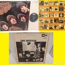 Discos de vinilo: BEATLES - RUBBER SOUL 1965 !! RARO, USA ORG EDIT MONO CAPITOL !! COLLECTORS !! TODO EXC. Lote 60861037