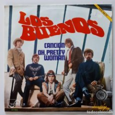 Discos de vinilo: LOS BUENOS - CANCION - OH, PRETTY WOMAN - SPANISH BEAT - MOD - YE-YÉ. Lote 156644406