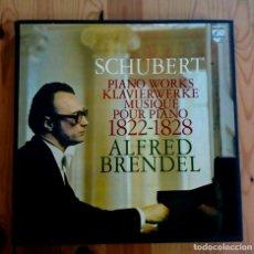 Discos de vinilo: SCHUBERT. OBRAS PARA PIANO. BRENDEL (8 LPS). Lote 156647022