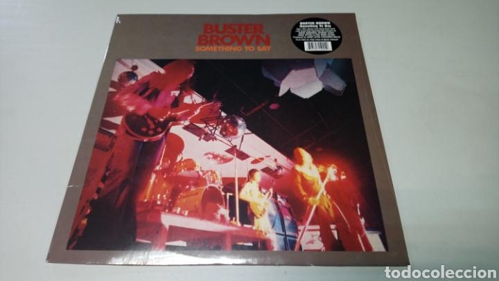 BUSTER BROWN - SOMETHING TO SAY. LP VINILO PRECINTADO. AUSTRALIAN HARD ROCK (Música - Discos - LP Vinilo - Pop - Rock - Extranjero de los 70)