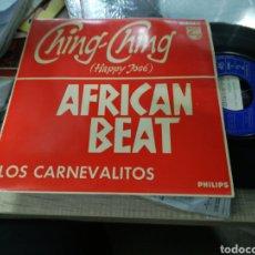 Discos de vinilo: LOS CARNEVALITOS EP AFRICAN BEAT + 3 ESPAÑA 1962 EN PERFECTO ESTADO. Lote 156650898