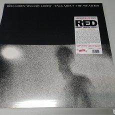 Discos de vinilo: RED LORRY YELLOW LORRY - TALK ABOUT THE WEATHER. LP VINILO PRECINTADO. POST PUNK. Lote 156651054
