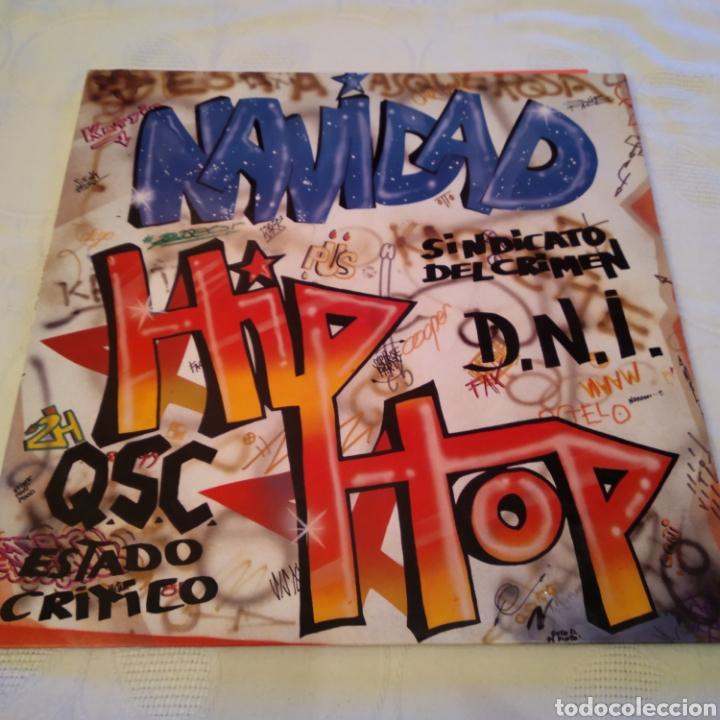 NAVIDAD HIP HOP. LP 1989. CONTIENE ENCARTE (Música - Discos - LP Vinilo - Rap / Hip Hop)