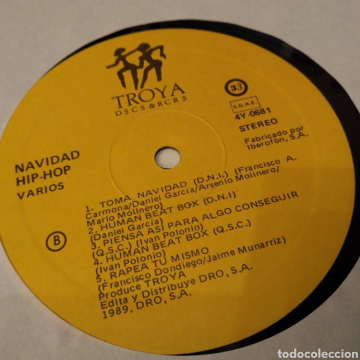 Discos de vinilo: NAVIDAD HIP HOP. LP 1989. CONTIENE ENCARTE - Foto 3 - 156654242