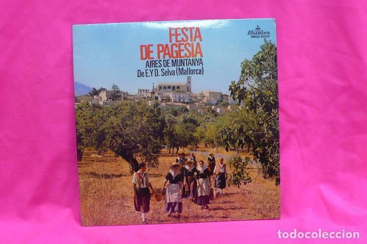 AIRES DE MUNTANYA, FESTA DE PAGESIA, BOLERO DE S'HORT D'EN BOIRA, CANÇO DE S'ESTERROSA, + 4, 1972. (Música - Discos de Vinilo - EPs - Otros estilos)