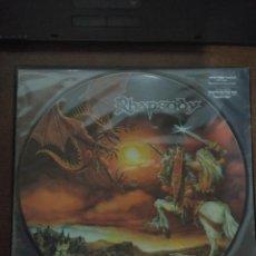 Discos de vinilo: RHAPSODY - LEGENDARY TALES EDICION LIMITADA PICTURE DISC. Lote 156657894