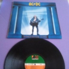 Discos de vinilo: JOYA LP. ACDC. WHO MADE WHO EDIT. GERMANY.AÑO 1986. UK WX 57. 781 650 - 1. . Lote 156659386