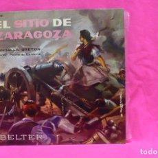 Discos de vinilo: EL SITIO DE ZARAGOZA, RONDALLA BRETON, BELTER, 1961.. Lote 156660474