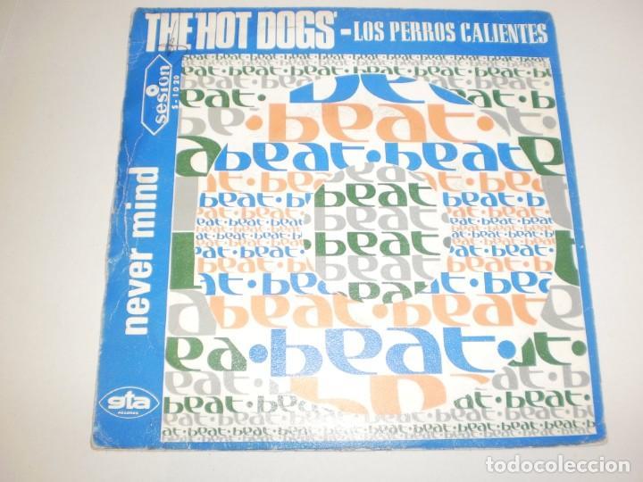 Discos de vinilo: single the hot dogs. hot dogs shake. never mind. sesion 1967 spain (probado y bien, buen estado) - Foto 2 - 156663590
