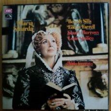 Discos de vinilo: DONIZETTI. MARIA STUARDA. SILLS. EMI. (2 LPS). Lote 156664982