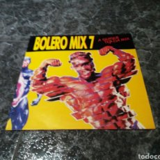 Discos de vinilo: VARIOUS - BOLERO MIX 7 (COMP, P/MIXED). Lote 156665384