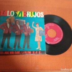 Discos de vinilo: LOS BRUJOS / CIELITO LINDO / EP 45 RPM / ZAFIRO 1963. Lote 156666410