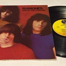 Discos de vinilo: RAMONES - END OF THE CENTURY LP, 1980, ESPAÑA. Lote 156674772