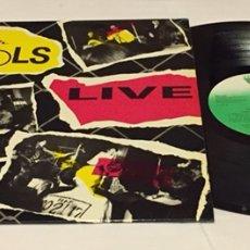 Discos de vinilo: SEX PISTOLS - THE ORIGINAL SEX PISTOLS LIVE LP, 1989, ESPAÑA, RARO!!. Lote 156674856