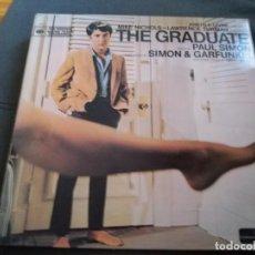 Discos de vinilo: THE GRADUATE --- PAUL SIMON & GARFUNKEL. Lote 156678002