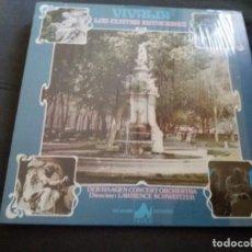 Discos de vinilo: VIVALDI --- LAS CUATRO ESTACIONES // COMO NUEVO. Lote 156679390