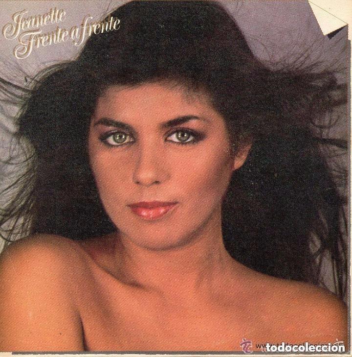 JEANETTE, FRENTE A FRENTE, CUANDO ESTOY CON ÉL - SINGLE SPAIN 1981 (Música - Discos - Singles Vinilo - Pop - Rock - Extranjero de los 70)