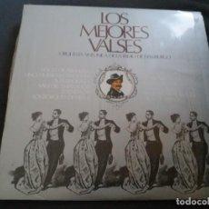 Discos de vinilo: LOS MEJORES VALSES - ORQUESTA SINFONICA DE LA RADIO DE HAMBURGO // COMO NUEVO. Lote 156681358