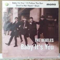 Discos de vinilo: ** THE BEATLES - BABY IT'S YOU + 3 - EP AÑO 1995 - MADE IN U.S.A. - LEER DESCRIPCION. Lote 156681742