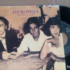Discos de vinilo: SINGLE (VINILO)-PROMO- DE LUCIO DALLA AÑOS 90. Lote 156684238