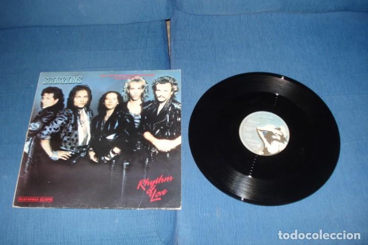 SCORPIONS- RHYTHM OF LOVE SINGLE (Música - Discos de Vinilo - Maxi Singles - Heavy - Metal)