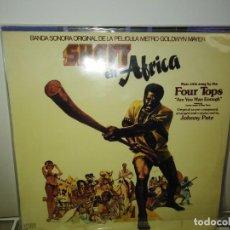 Discos de vinilo: SHAFT EN AFRICA LP ORIGINAL 1976 BLACKXPLOTATION PULP FUSION. Lote 156686598